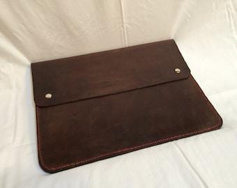 Leather Macbook Case