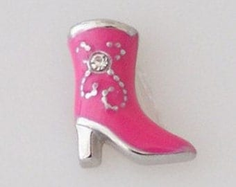 Charm - Pink fancy boot