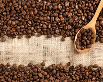 Free Shipping!! Black Roasted Coffee Beans 100g or 250g(8.8oz) .From Portugal!