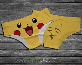 Pikachu Pokemon Panties