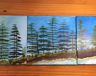 Summer Solstice Triptych