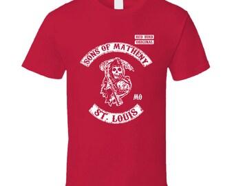 Sons Of Matheny St Louis Baseball T Shirt