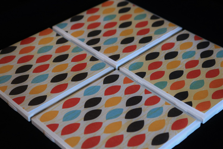 Coasters For Drinks Coasters Tile Fall Coasters Handmade