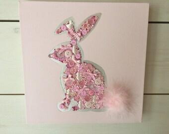 Fluffy Jewelled Bunny