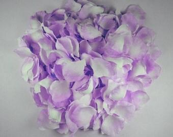 LILAC- Rose Petals 300 Wedding Decoration Flower Girl Basket Toss