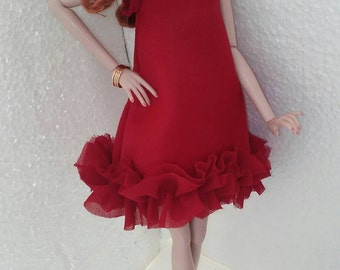 Doll clothing dress Fit's 16 inch doll Tulabella, Tylor,Gene, Sybaritas,Numina all other same size