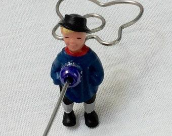 """Spinning hook """"Peterle"""" treading tool"""