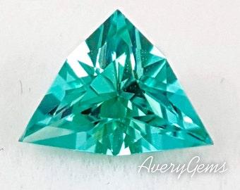 Natural Gemstone Neon Green Cuprian Tourmaline 0.98 ct By Avery Gems