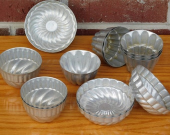Vintage Jello Molds Great For Altered Art Projects