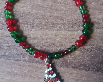 Beautiful Christmas charm bracelet