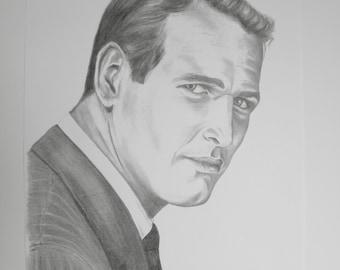 paul newman portrait