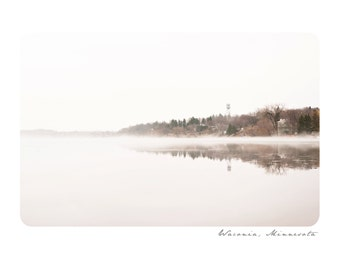 Waconia Notecard Set ~ Fog Reflection