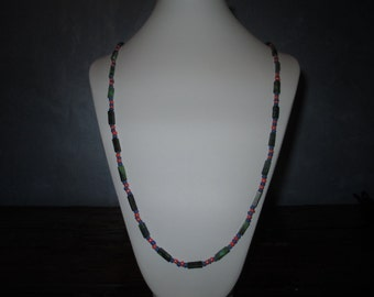 Yellow Turquoise long necklace