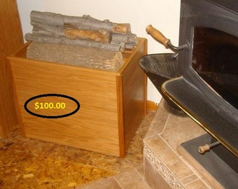 Custom Made Firewood Box