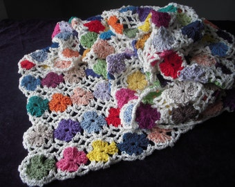 Crochet Cotton Knee Rug