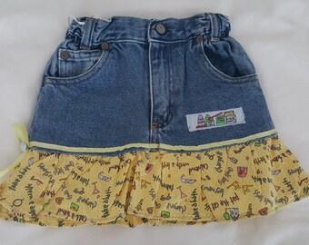 Jeans Girls Skirt Friendship