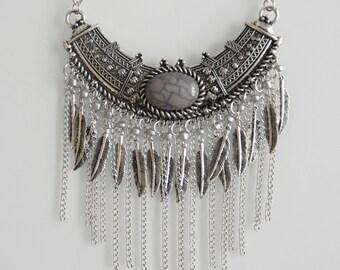 Necklace Pearl Grey