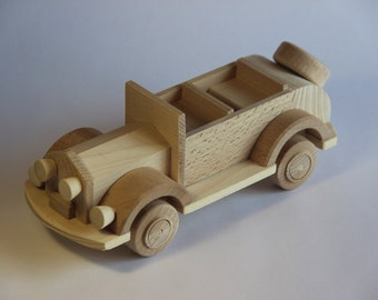"""Wooden toy car cabriolet  """"FORD"""" ,children toy, eco friendly toy"""