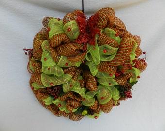 Christmas Wreath with Jingle Bells