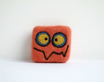 Felted soap - Orange