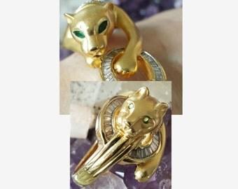 Panther Ring & Bracelet