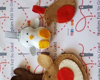 Penguin tree decoration, penguin hanging tree decoration, penguin decorations