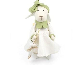 Lamb - Plush doll by Times Hemp Company. 100% Organic Hemp. Handmade.