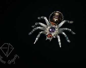 Brooch Spider