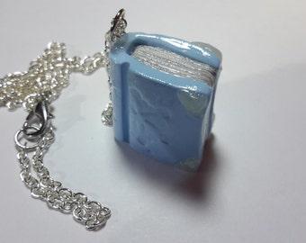 Snowflake Book Necklace