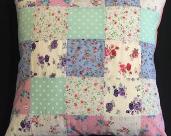 Cotton Patchwork Cushion