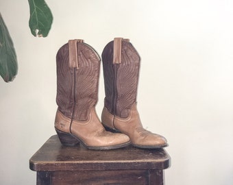 Vintage Frye Cowgirl Boots
