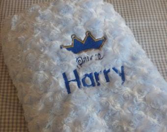 Personalised baby blanket - personalised baby gift