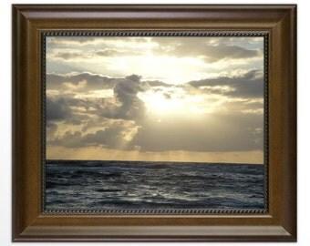 Hawaiian Sunrise, Framed Photograph