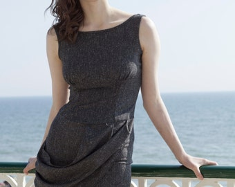 Hepburn Drape Dress