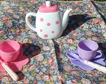 Dolls Tea Party Tablecloth
