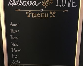 Kitchen Menu Board