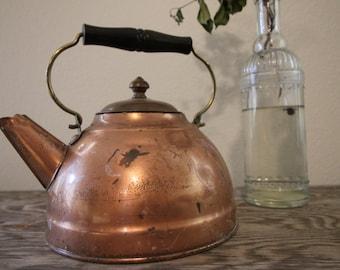 Copper Tea Kettle #12