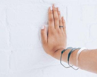 Bracelet, bangel, collection rock / / geometric - minimalist jewelry