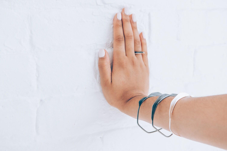 EMD Joaillière/ Emilie dell Aniello -  Bracelet bangel, collection Rocaille