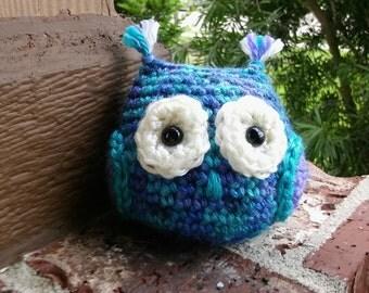 Colorful Crochet Amigurumi Owls