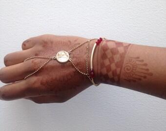 Sri Lanka Gold Hand Chain