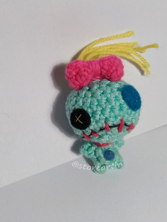 Amigurumi Lilo Y Stitch : Scrump Lilo & Stitch amigurumi finished amigurumi