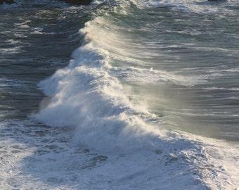 Ocean Wave at Whaleshead 4320. Photography. Ocean Photo. Oregon Coast.