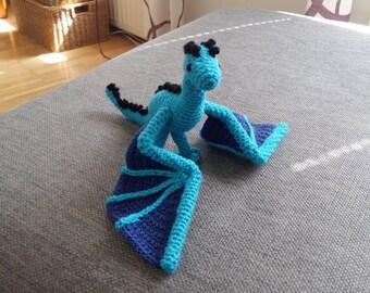Custom Crochet Dragon
