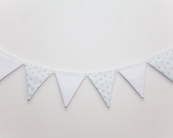 Barney Blue Star Nursery Bunting