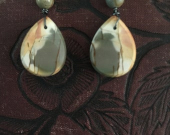 Red Creek Jasper earrings
