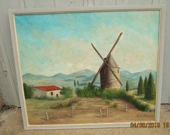 BEAUTIFUL FRENCH PAINTING