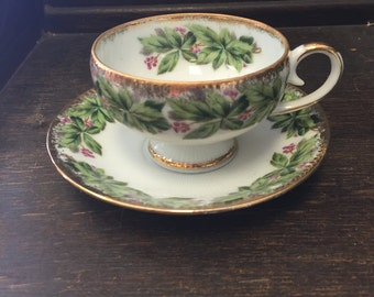 Teacup and Plate