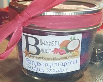 Blossom Beach Luxury Sugar Scrubs for Bath and Shower