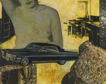 OOAK collage 9x12 II